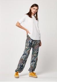 Spodnie 5025 (z różowym)