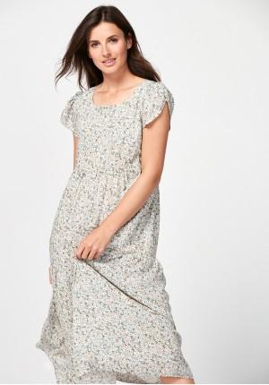 Jasna letnia sukienka
