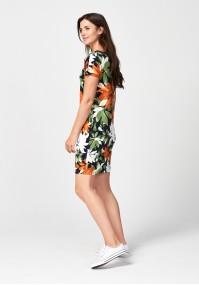 Flowery summer dress