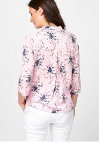 Pink flowery shirt