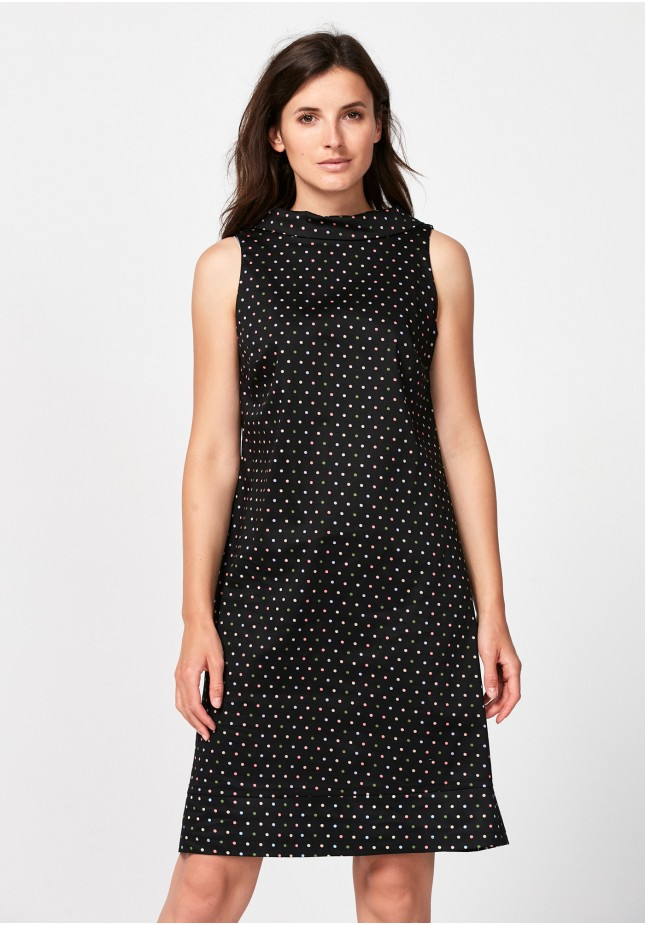 Dress with colorful dots