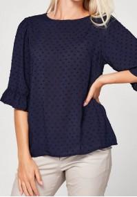 Granatowa letnia bluzka