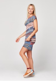 Simple dress with small sequins