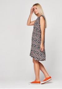 Dress with white camomiles