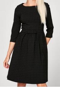 Elegancka sukienka w kropki
