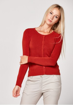 Classic brick red Sweater