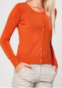 Classic dark orange Sweater