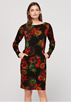 Simple dress with flowers