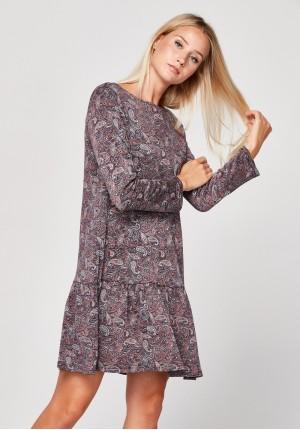 Sukienka paisley