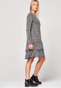 Dress with spots