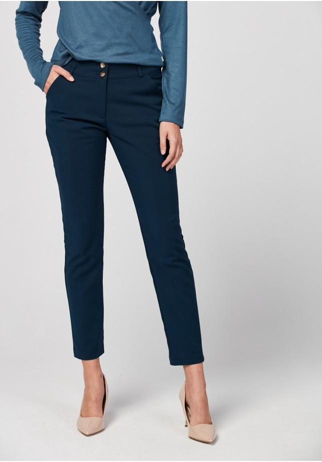 Granatowe spodnie
