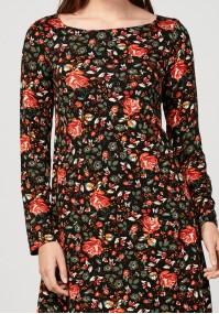 Sukienka w róże