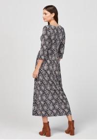 Maxi odcinana sukienka