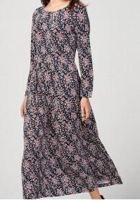 Tapered maxi dress