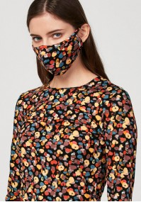 Mask with colorful spots