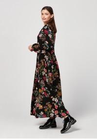 Maxi sukienka na guziki