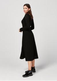 Openwork dress