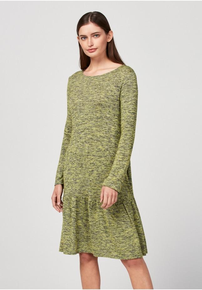 Dzianinowa sukienka