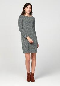 Prosta cienka sukienka