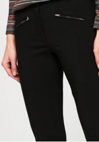 Spodnie z zamkami