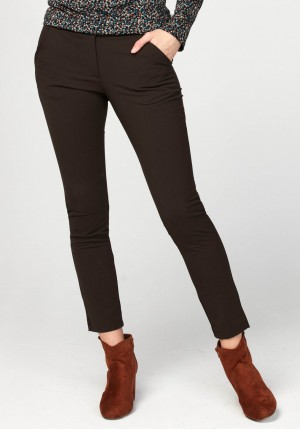 Dark brown pants