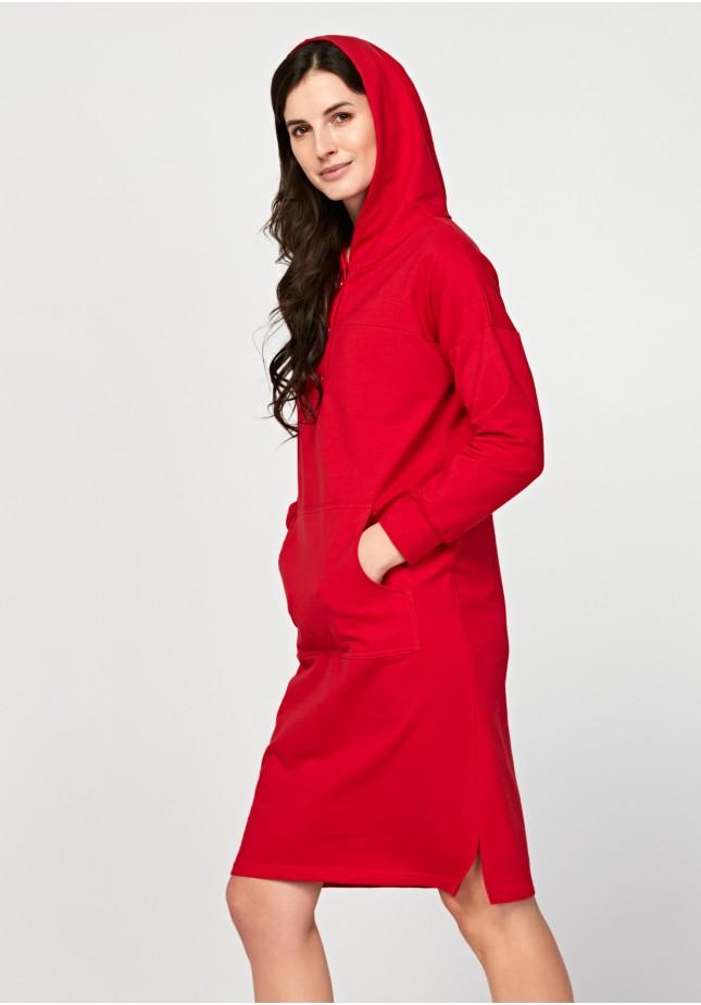 Sukienka 1960 (czerwona)