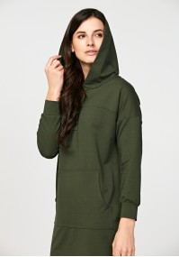 Simple dress with a hood