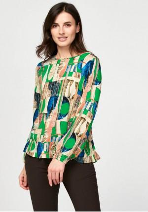 Swobodna bluzka