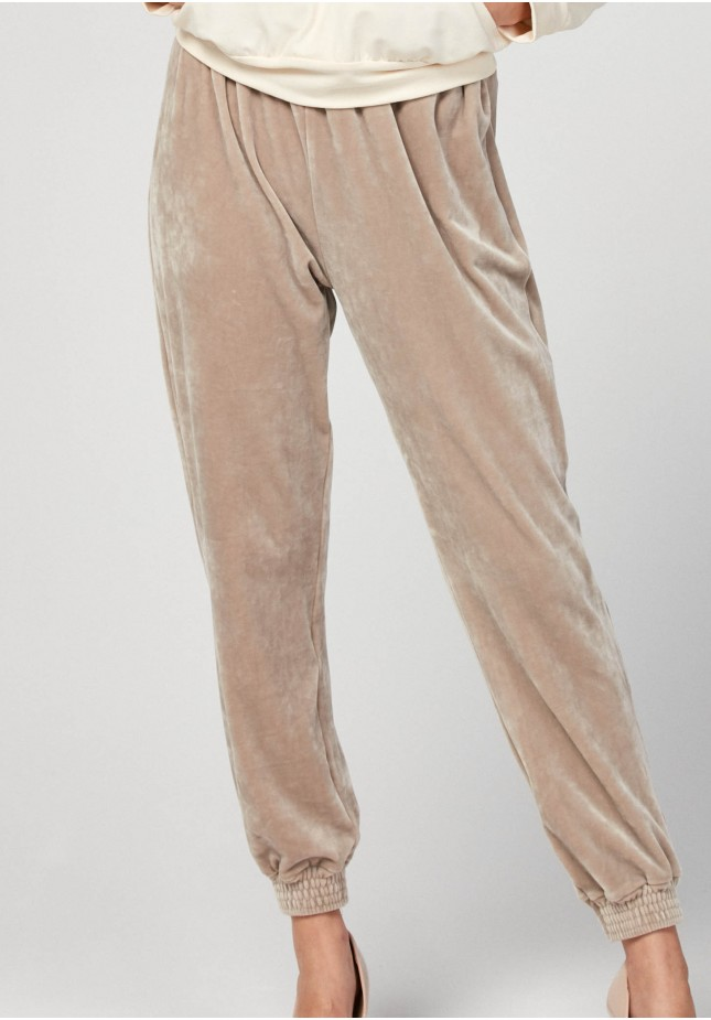 Warm beige pants