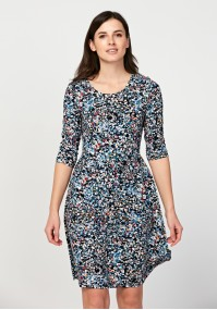 Dress with small flowers