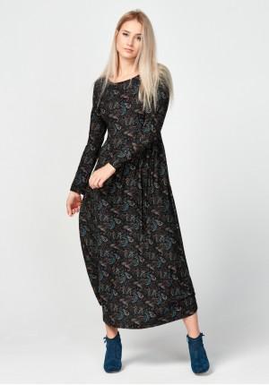 Midi paisley dress