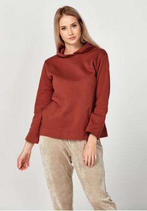 Brązowa bluza