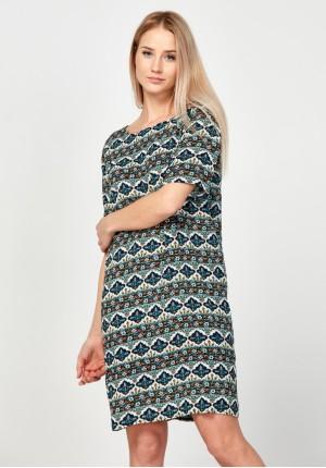 Sukienka z wycięciem na plecach