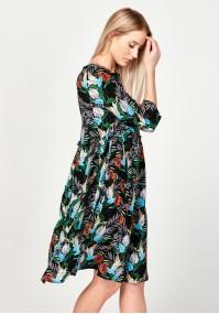 Sukienka 1216 (liście)