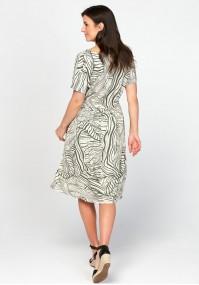 Tapered waist dress