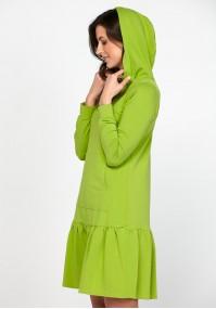 Dress with a hood