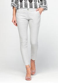 Spodnie 5063 (biało-szare)