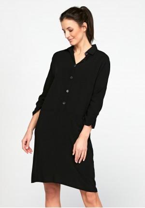 Dark Black Dress