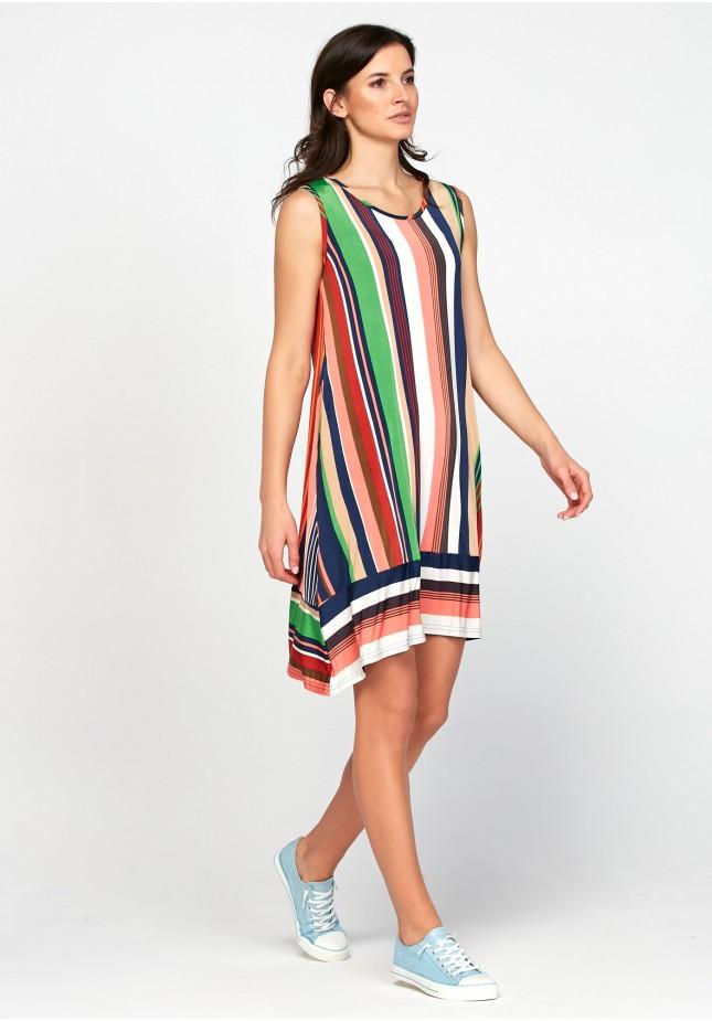 Sukienka 1273 (w paski)