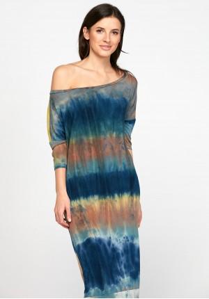 Sukienka 1278 (niebieska)