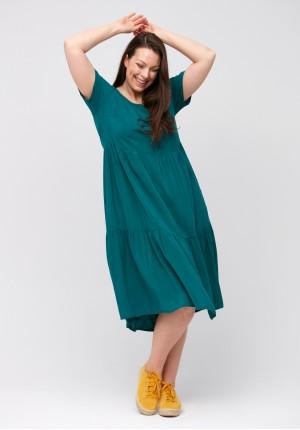 Dark green dress