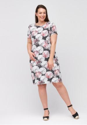 Sukienka w dmuchawce