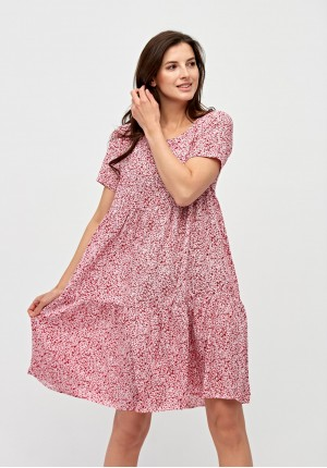 Dress with flowers