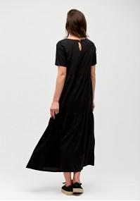 Czarna sukienka maxi