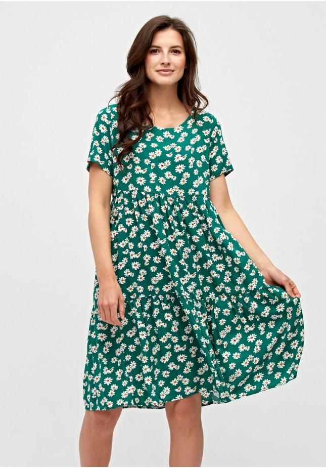 Sukienka w rumianki