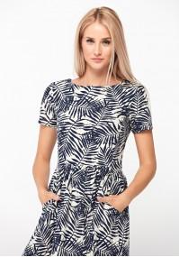 Midi linen dress