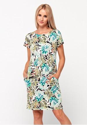 Sukienka w liście
