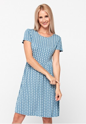 Dress with dots