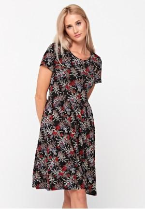 Dress with twigs