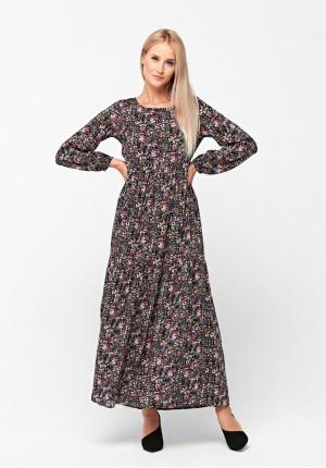 Sukienka w drobne kwiatki